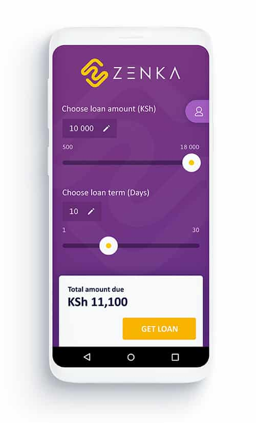 Zenka Mobile Loan App in Kenya - Mobile Loans in 5 Minutes